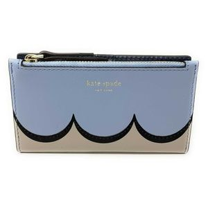Kate Spade Bags - Kate Spade Intarsia Scallop Small Bifold Wallet